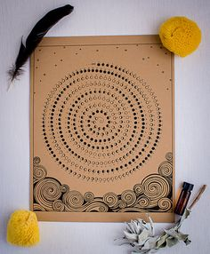 2014 Moon Calendar by HolySponge! on Etsy, $14.50. Artist: Alma Reyes Evans, Winding Labyrinth Art. https://www.etsy.com/listing/168988652/2014-moon-calendar?ref=af_shop_favitem