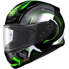 Kawasaki Green helmets are now available in the Shoei range with the all new Shoei NXR Helmet coming onto the market. This would be perfect for a Kawasaki Racing Green Ninja on track days to match the bike. Shoei Motorcycle Helmets, Shoei Helmets, Full Face Motorcycle Helmets, Full Face Helmets, Motorcycle Outfit, Motorcycle Babe, Motorcycle Clothes, Bike Clothing, Bike Helmets