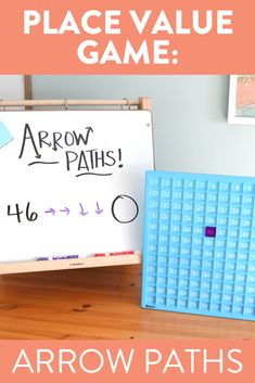 I love this quick and easy place value game using a 120 chart. This activity is a great way for first grade students to understand tens and ones. Head over to the video to see the different ways to play!
