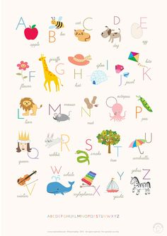 Great roundup of favorite Free Printable Wall Art for Kid's Rooms.