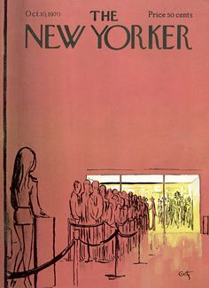 The New Yorker - Saturday, October 10, 1970 - Issue # 2382 - Vol. 46 - N° 34 - Cover by : Arthur Getz