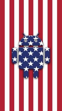 Stars and Stripes HD Android wallpaper