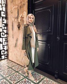 Modern Hijab Fashion, Hijab Fashion Inspiration, Islamic Fashion, Muslim Fashion, Modest Fashion, Casual Hijab Outfit, Hijab Chic, How To Wear Hijab, Hijab Trends