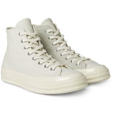 Converse - 1970s Chuck Taylor All Star Leather and Suede High-Top Sneakers
