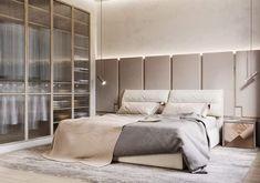 Modern Home Decor Bedroom Bedroom Bed Design, Home Room Design, Modern Bedroom Design, Contemporary Bedroom, Home Decor Bedroom, Minimal Bedroom, Interior Architecture, Interior Design, Suites