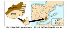 Situación del Santuario de la Nariz, Moratalla (Murcia). En estas cuevas-santuario se celebraban festividades religiosas y ofrendas al margen de la ocupación romana.
