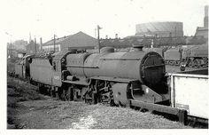 42859 Crab 42859 at Birkenhead mpd Photo by Steam Trains Uk, Abandoned Train, Steam Railway, British Rail, Steam Engine, Steam Locomotive, Crabs, Train Station, North West