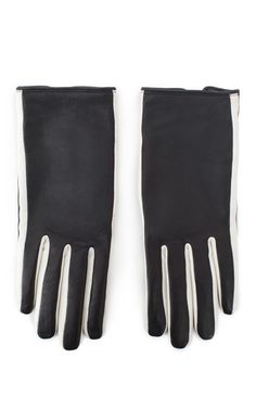 Kenzo - Two-Tone Lambskin Driving Gloves
