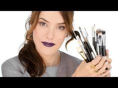 Video: My Favourite Brushes (updated) - From My Kit (Lisa Eldridge Make Up) Diy Beauty, Beauty Makeup, Eye Makeup, Beauty Hacks, Beauty Tips, Beauty Case, Eyebrow Brush, Lip Brush, Eyeshadow Brushes