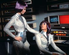 Still of Gabrielle Drake and Antonia Ellis in Ovni Star Trek, Most Popular People, Ufo Tv Series, Sci Fi Tv Shows, Space Girl, Space Tv, Classic Tv, Celebs, Celebrities