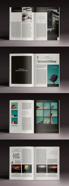 V4 Ebook Template Powerpoint Keynote By Daringtwo On Creativemarket