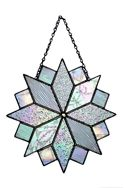 stained glass snowflake - christmas ideas