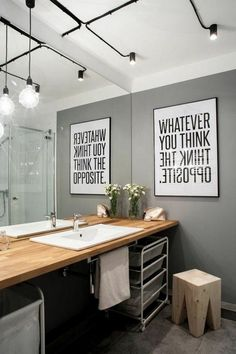 'Minimal Interior Design Inspiration' is a biweekly showcase of some of the most perfectly minimal interior design examples that we've found around the web - Decor, Minimalism Interior, Bathroom Lighting, Interior Design Inspiration, Interior Design Examples, Home Decor, Bathrooms Remodel, Bathroom Decor, Bathroom Inspiration