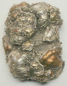 fca6d766b23 Marci Zelmanoff Brooch Vintage Modernist Mixed Metal Large Pin Women's NA |  eBay Mixed Metals,