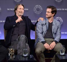 Hugh Dancy and Mads Mikkelsen, Paleyfest New York Presents: 'Hannibal' - 2014 (high quality)
