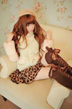 Gyaru; leopard reow!