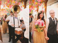 1970's LoveFest Wedding: Carissa + Adam – Part 1   Green Wedding Shoes Wedding Blog   Wedding Trends for Stylish + Creative Brides