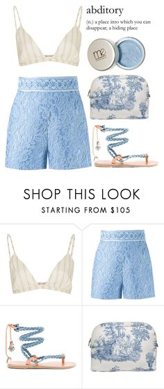 """""""Are we really through?"""" by lseed87 ❤ liked on Polyvore featuring Brock Collection, Martha Medeiros, Ancient Greek Sandals, Haremlique, vintage, music, Blue, romance and RayLaMontagne"""