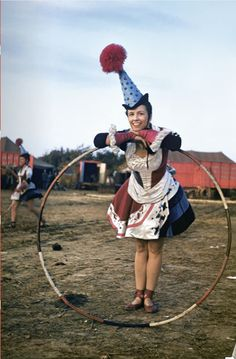 I could join the circus if it just meant holding a hula hoop and smiling.