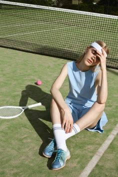 for the makers // courtside collection inspiration // Marssi Sport Style, Sport Chic, Sport Girl, Tennis Fashion, Sport Fashion, High Fashion, Mode Tennis, Foto Sport, Tennis Clothes
