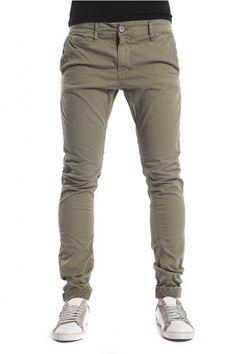DISPLAJ Pantalone cinos KINOS FIL color GREEN