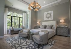 Model Home is a stunning ode to transitional design aesthetic (all interior architecture, finish selections, and furnishings by Masterpiece Design Group)