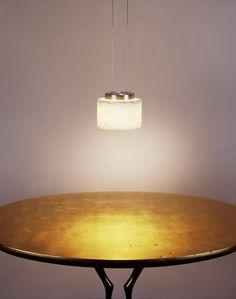 Serien Lighting Reef LED Suspension velour gold