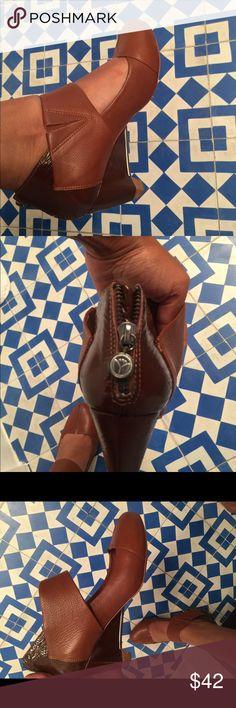 Leifsdottir Shoes Brown Leather Leifsdottir shoes made in Brazil Leifsdottir Shoes Heels