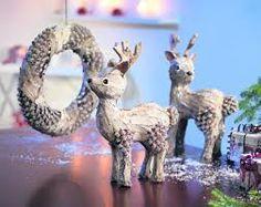 Znalezione obrazy dla zapytania ozdoby świąteczne ręcznie robione