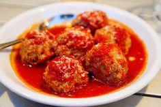 Polpette Napoletane Meatballs at Motorino in the East Village.