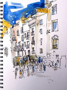 Drawing the city with Inma serrano | Flickr - Photo Sharing!