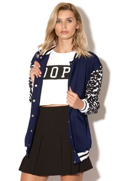 Universal Store FINDERS KEEPERS Once Again Bomber Navy