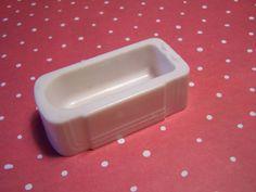 Allied  Bathroom Tub White hard Plastic by MinimalScratch on Etsy, $2.99