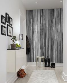 Wall mural R13482 Colour Stream, black