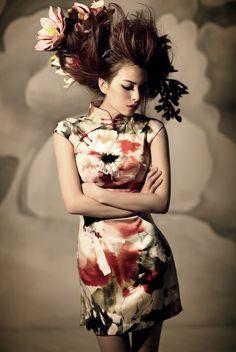 Chinese qipao dress