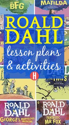 Need fun Roald Dahl Day ideas? These Roald Dahl activities are perfect for Roald Dahl books like BFG activities, Charlie and the Chocolate Factory, Twitches and more reading fun activities! #childrensbooks #reading #kidsbooks #lessons #roalddahlday