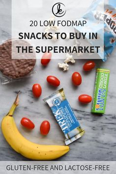 Low FODMAP snacks that you can buy in the supermarket. Simple low FODMAP snack ideas for moments when you don't have a lot of time and need a quick snack snack lowfodmapsnack snacs fodmap glutenfree lactosefree 507780926733081083 Quick Snacks, Healthy Meals For Kids, Healthy Snacks, Healthy Recipes, Sans Lactose, Lactose Free, Sans Gluten, Weight Watchers Snacks, High Protein Snacks