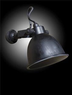 VERLICHTING Wandlamp Maxim Antiek Zwart - 't Veurhuus Nostalgisch Wonen - product_detail wandlamp_maxim_antiek_zwart 3119