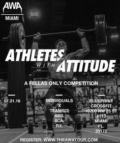The AWA (Athletes With Attitude) Tour - Miami - https://www.fitevents.com/?p=356786