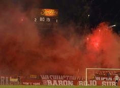 En imágenes la victoria escarlata 3-1 sobre River Plate. #OrgullosamenteAmericano #EscarlataUniversal