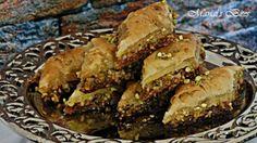 طريقة عمل البقلاوة بالفستق بطريقتين - Delicious #baklava #recipe