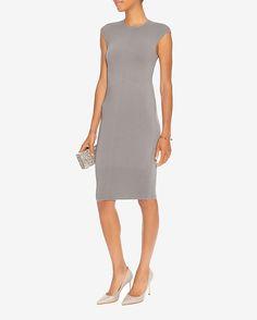 Ronny Kobo Kimora Ottoman Ribbed Dress | Shop IntermixOnline.com