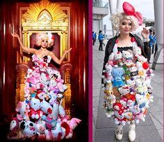 Coolest Homemade Senior Lady Gaga Halloween Costume | Lady gaga ...