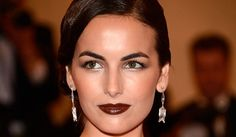 Camille Belle at the MET GALA .  Fall-Winter 2012 Trend for lips