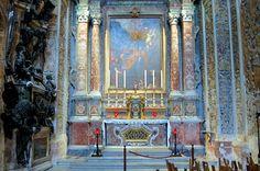 Malta, inside Valetta Cathedral !!!