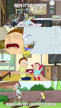 Rick and Morty | Sadness