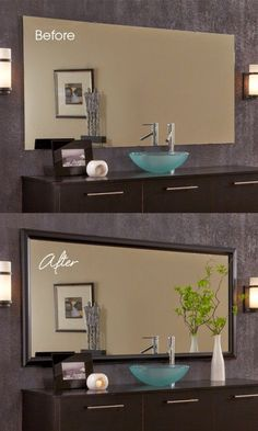 Michelle - Blog #Before&After - A #frame and the #mirror Fonte : http://mirrormate.hellosociety.co