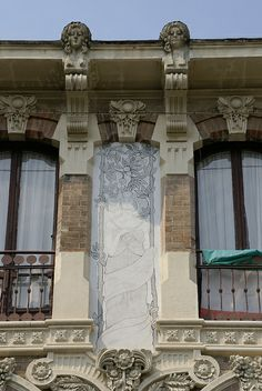 Torino, Via Pietro Piffetti, Jugendstilhaus von Giovanni Gribodo (Art nouveau house) | Flickr - Photo Sharing!