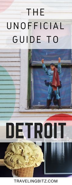 An unofficial guide to Detroit Michigan. America's up and coming city. What to do in Detroit, where to eat in Detroit, where to stay in Detroit, and more! Includes Google Map of Detroit destinations. #detroit #detroitmichigan #traveldetroit #visitdetroit #USAtravel