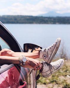 No better place to be. #Roadtrip #Converse #Summer